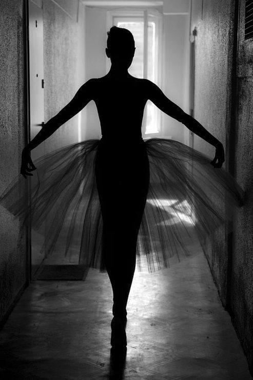 Bailarina de ballet para Epílogo y Tres Actos